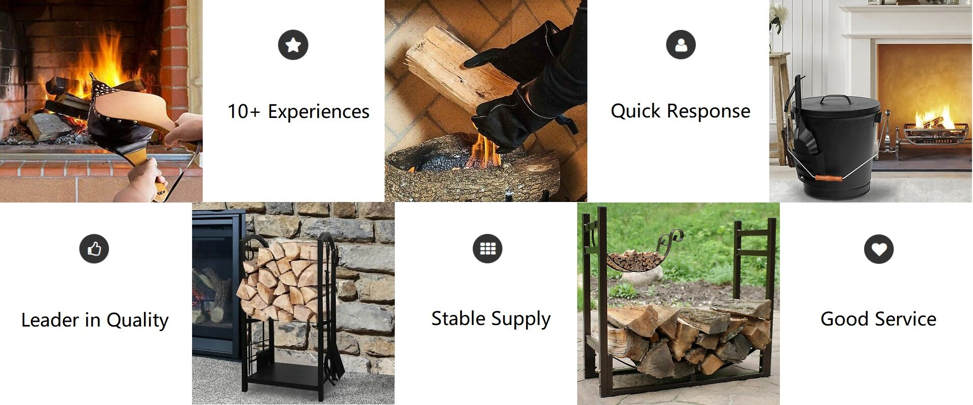 fireplace accessories supplier