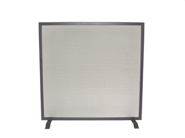 Single Panel Iron Fire Screen