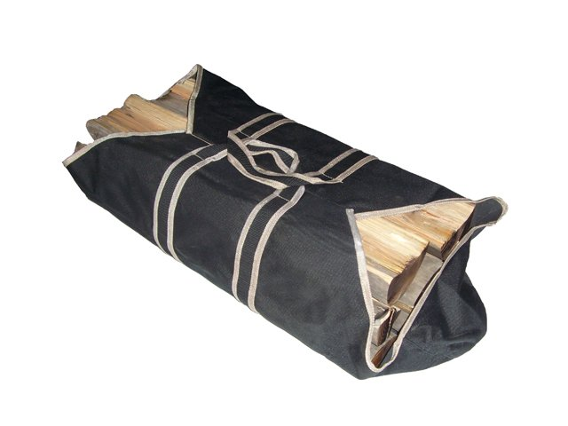 Canvas Log Tote Bag Carrier Fire Wood Carriers