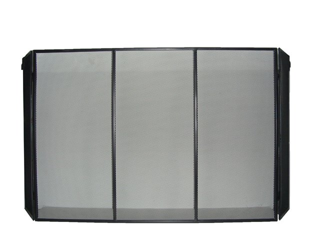 Solid Baby Safe Fireplace Fence
