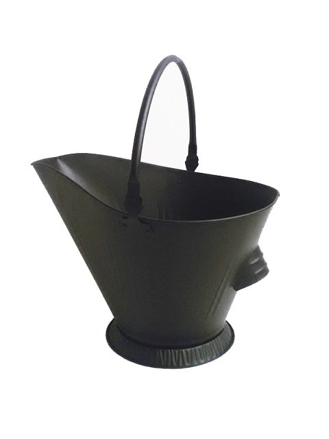 Ash Bucket for Fireplace Hot Ashes Carrier