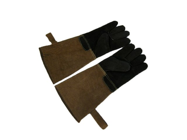 Baking Grill Gloves Leather Barbecue Gloves
