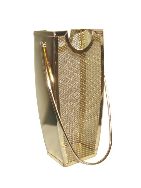 Brass Long Fireplace Match Stick Holder