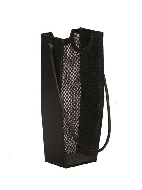 Fireplace Metal Mesh Black Match Stick Holder