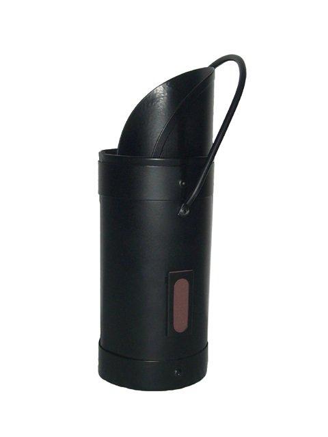 Fireside Metal Black Extra Long Match Stick Holder