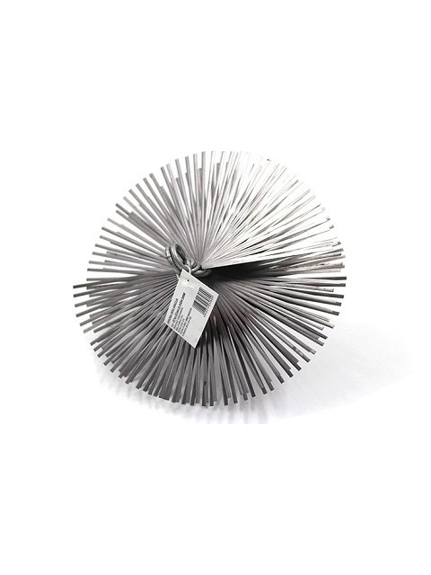 Flat Steel Wire Round Chimney Cleaning Brush