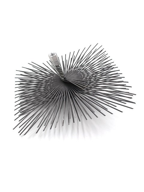 Flat Steel Wire Square Chimney Sweep Brush