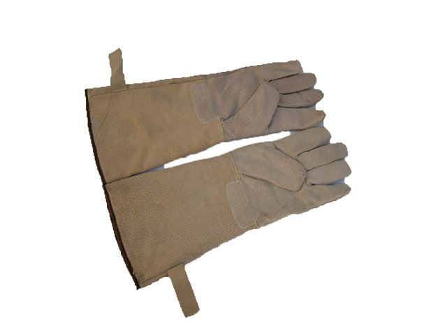 Heat Resistant Leather BBQ Camping Cooking Gloves
