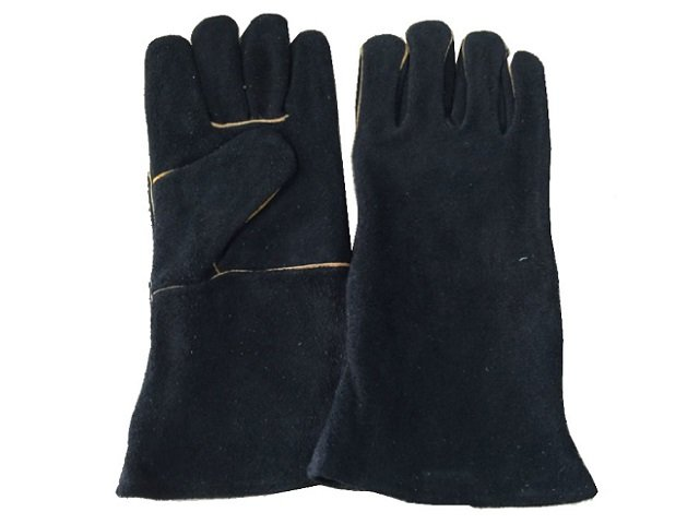 Leather BBQ Camping Cooking Gloves