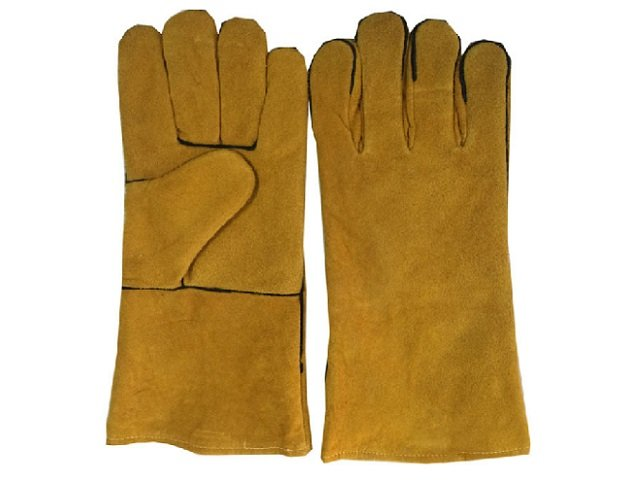 Leather Gloves For Fire Pits Grilling Stove