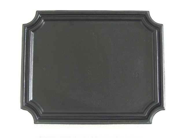 Plain Design Cast Iron Fireback